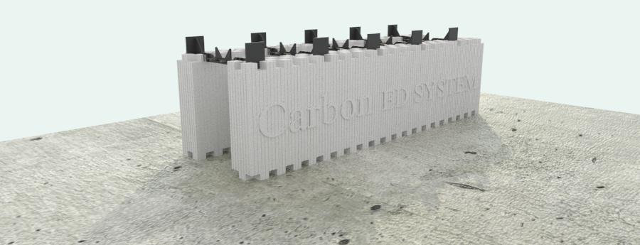 Muro portante Carbopn ED SYTEM